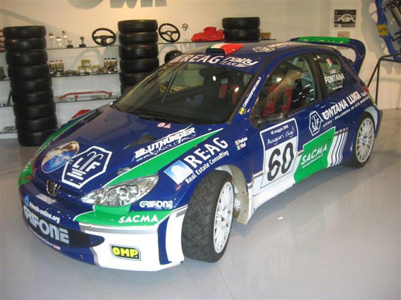 Peugeot 206 WRC Scuderia Grifone