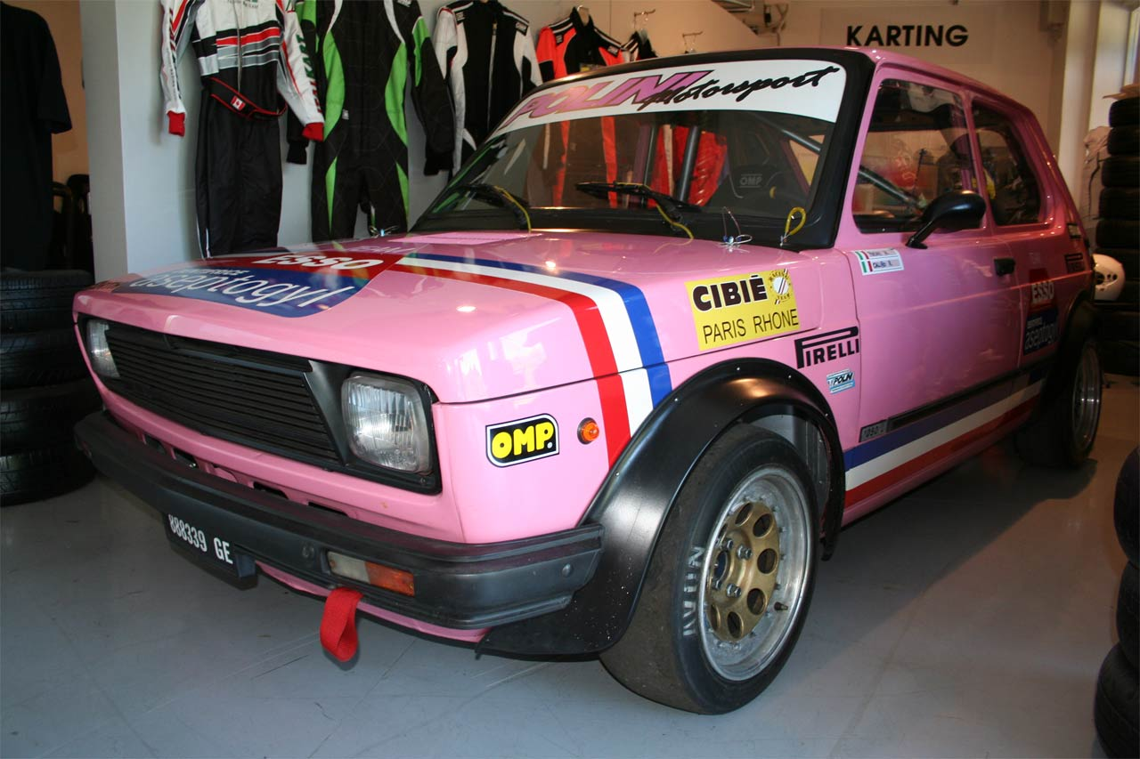 "Fiat 127 ""Pink Panther"" Polini"