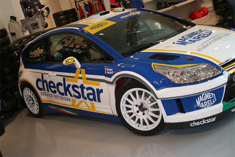 Citroen C4 WRC Team Magneti Marelli