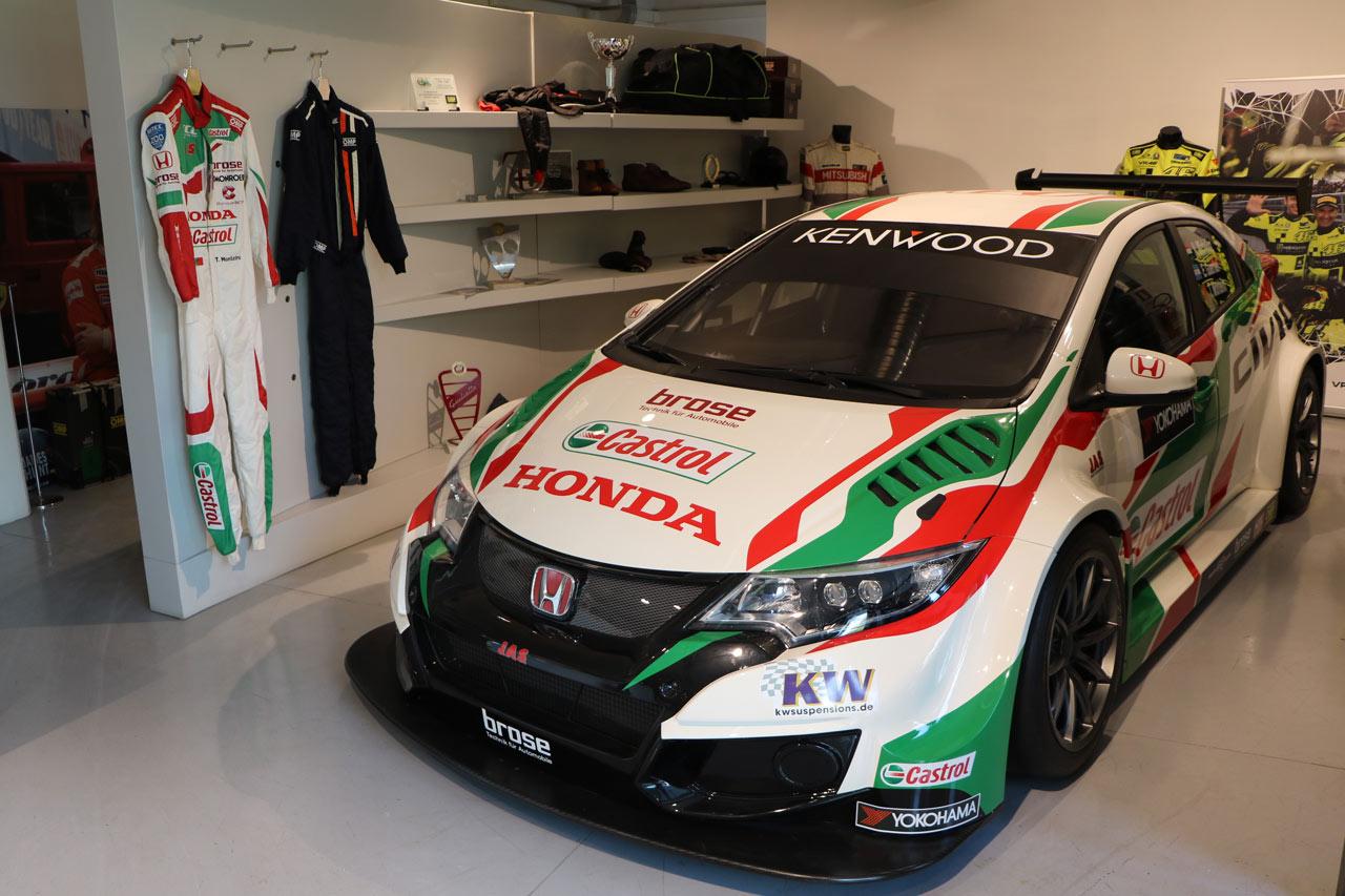 Honda Civic WTCC by JAS Honda Motorsport