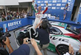 WTCC Home win for Tarquini's Honda!!