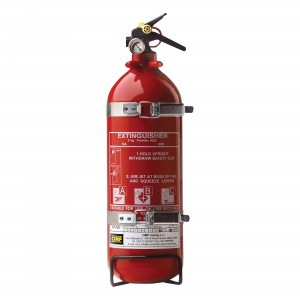 Hand held fire extinguishers - CAB/316